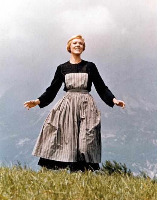 "Julie Andrews in ""Sound Of Music"" - 20th Century Fox - Released March 2, 1965"